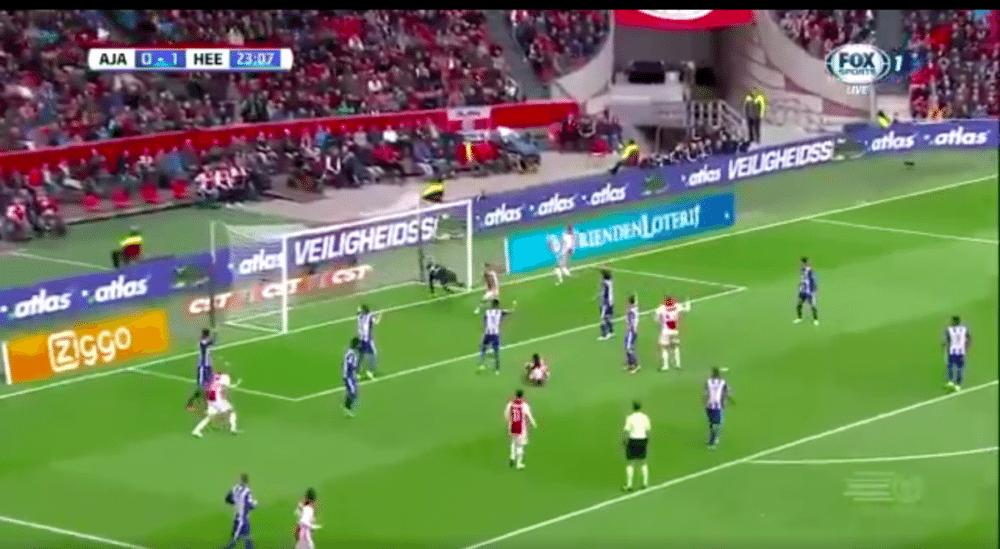 Ajax-verdediger brengt ploeg op gelijke hoogte