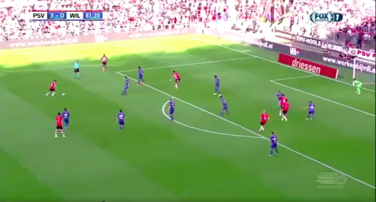 Guardado pikt na twee assists ook doelpunt mee