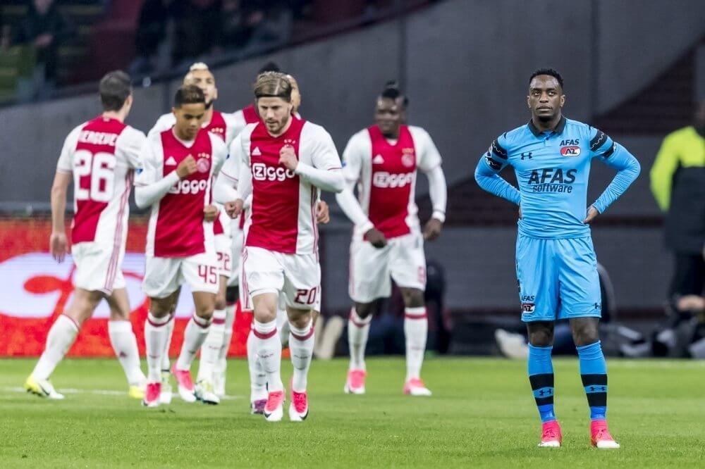 Samenvatting Ajax – AZ Alkmaar (4-1)