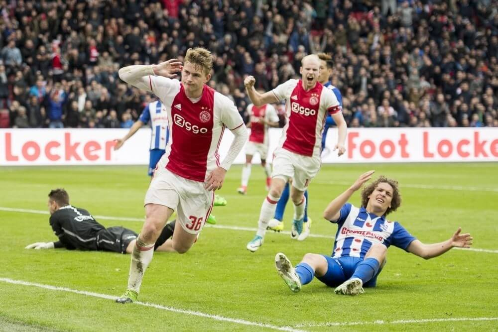 Samenvatting Ajax - sc Heerenveen (5-1)