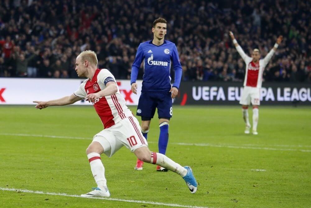 Samenvatting Ajax – Schalke 04 (2-0)