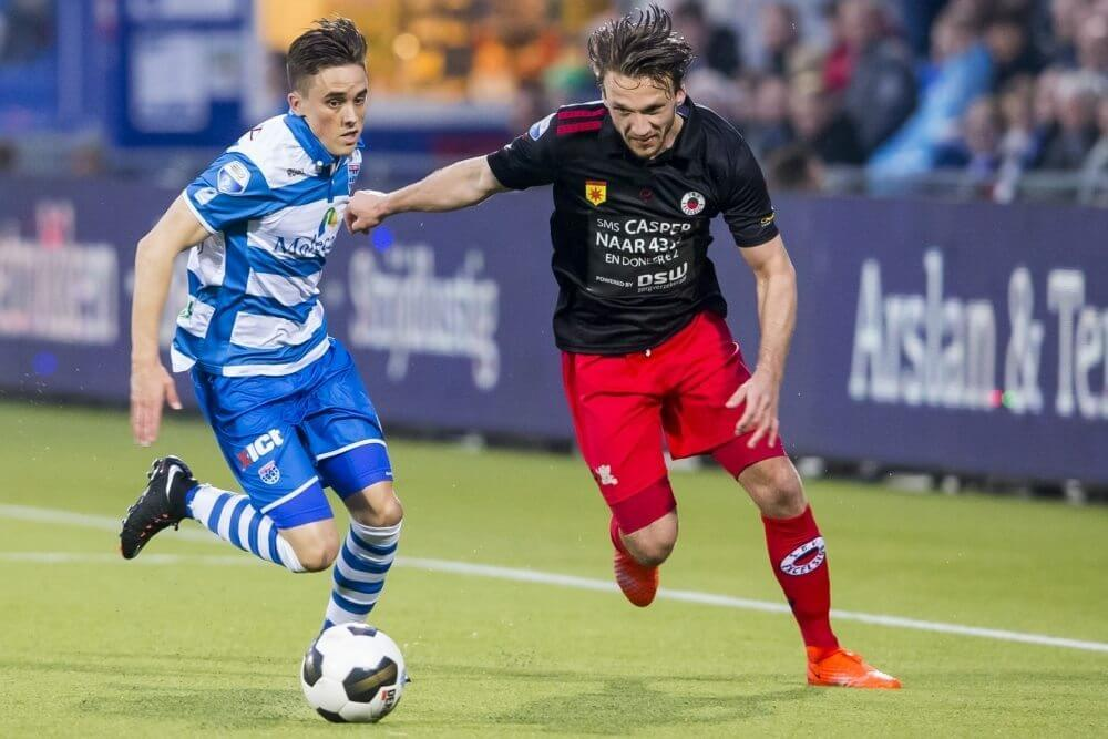 Samenvatting PEC Zwolle – Excelsior (1-1)