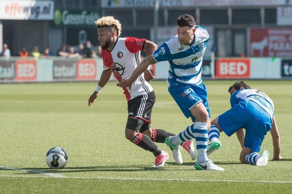Samenvatting PEC Zwolle – Feyenoord (2-2)