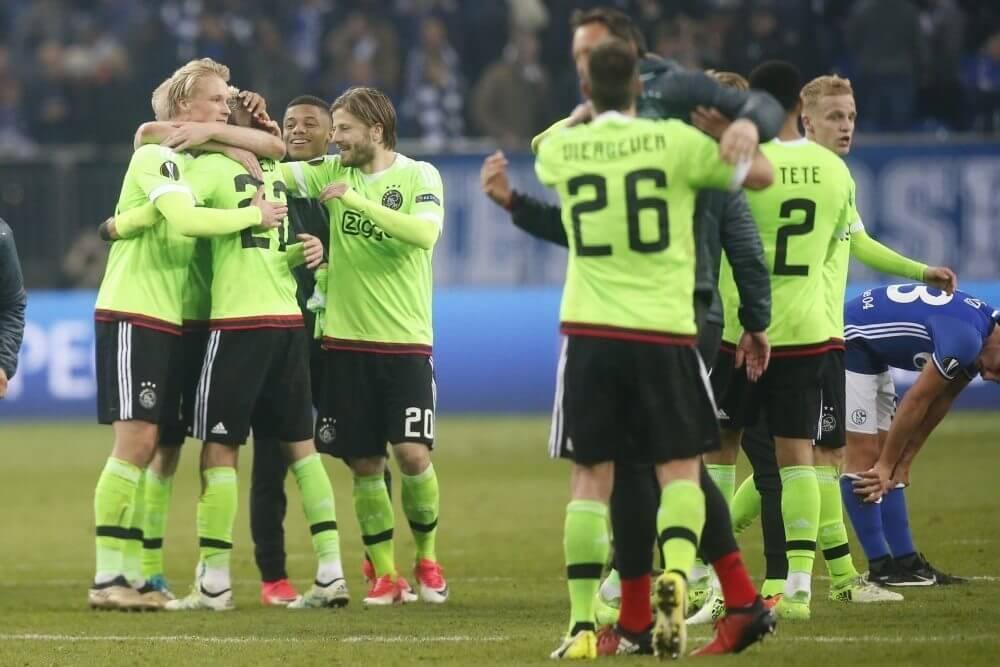 Samenvatting Schalke 04 - Ajax (3-2)