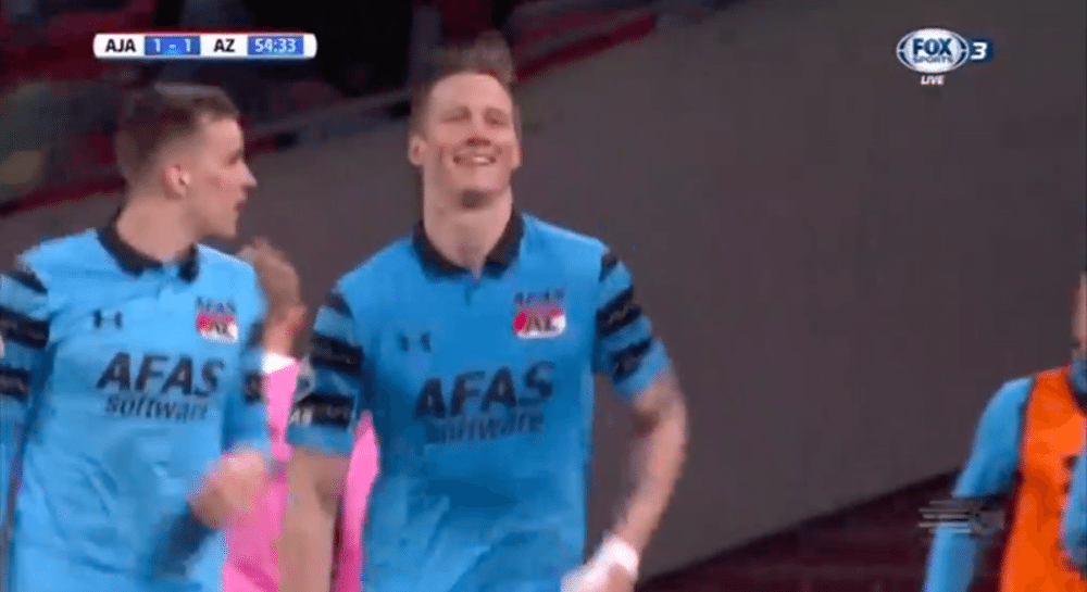 Weghorst doet Ajax pijn