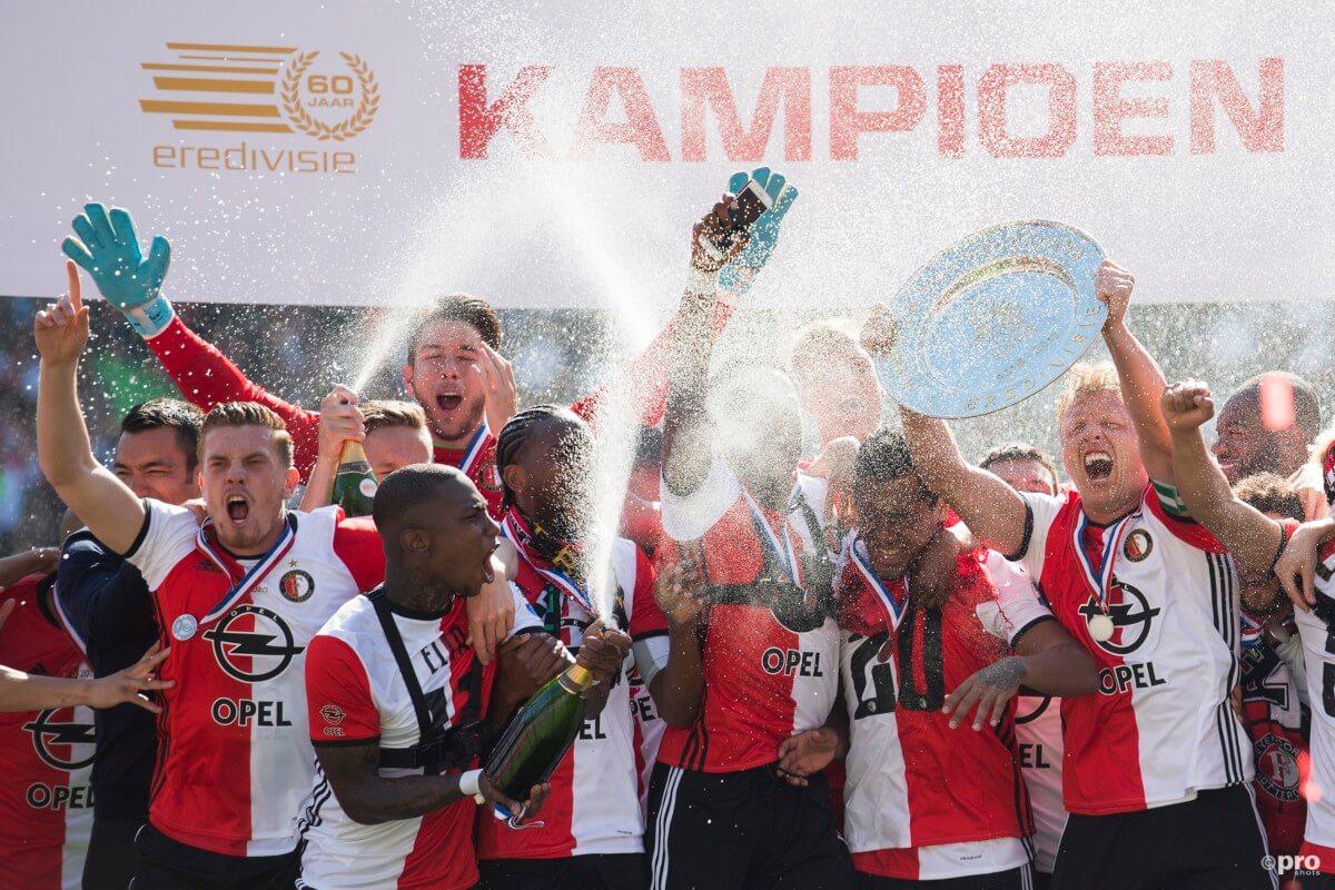 Huldiging Feyenoord live op Facebook