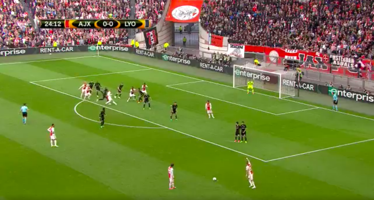 Traoré kopt Ajax op voorsprong