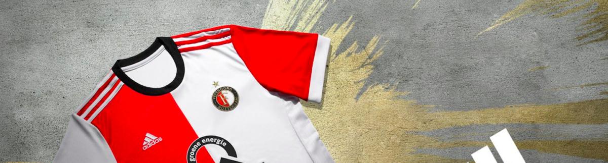 Dit is het nieuwe shirt van Feyenoord