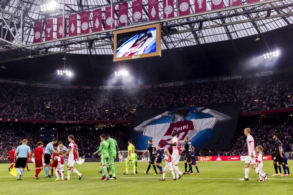 Ajax uitgeschakeld in Champions League na gelijkspel tegen Nice