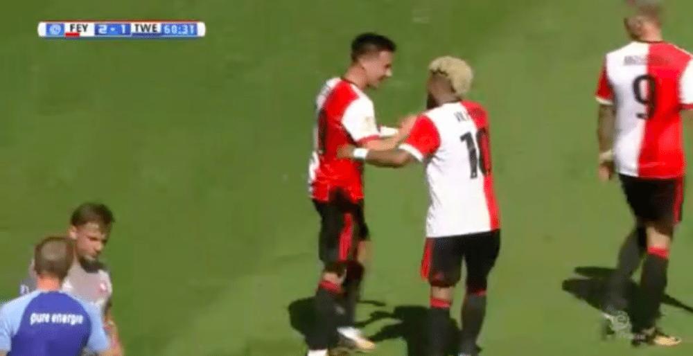 Berghuis zet Feyenoord op voorsprong