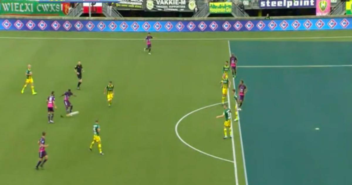 Dessers scoort eerste Eredivisie-doelpunt