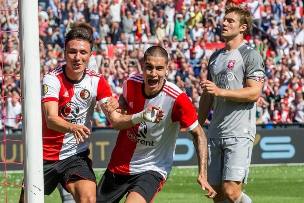 Feyenoord wint nipt van Twente