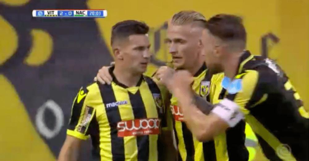 Opnieuw een scorende debutant bij Vitesse
