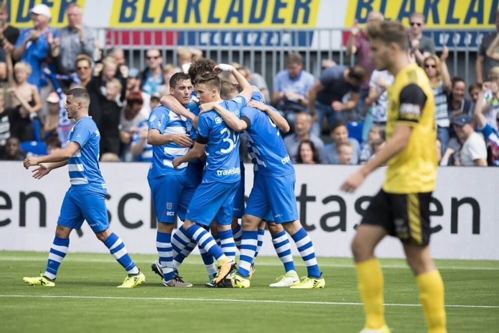 PEC in doelpuntrijk duel langs Roda