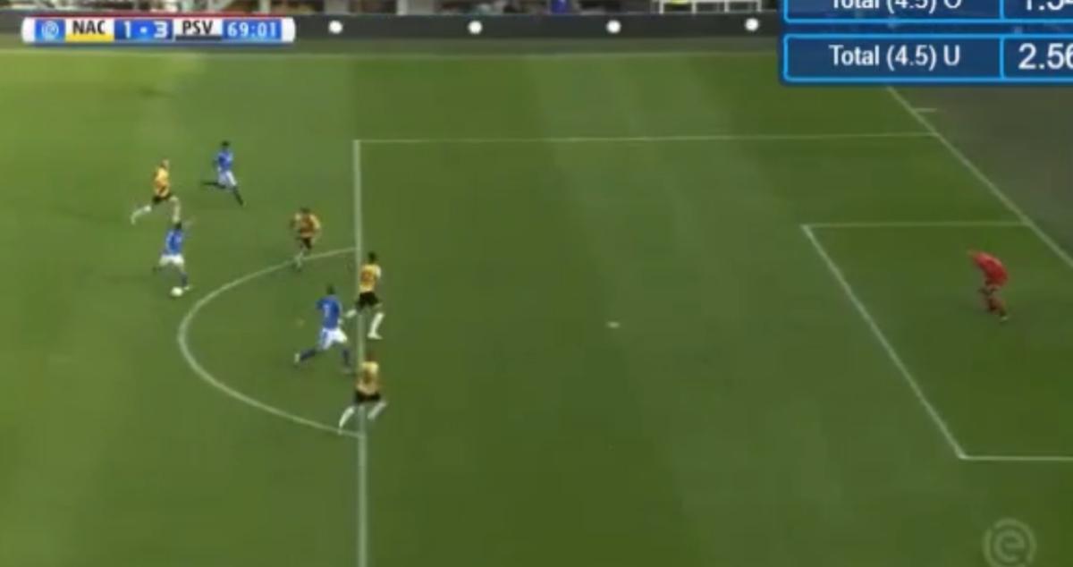 Van Ginkel en Lozano lijken PSV langs NAC te schieten