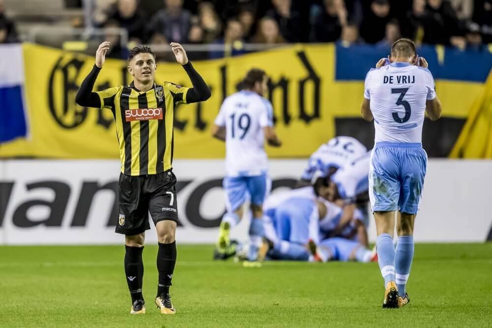 Dapper Vitesse doet zichzelf tekort tegen Lazio