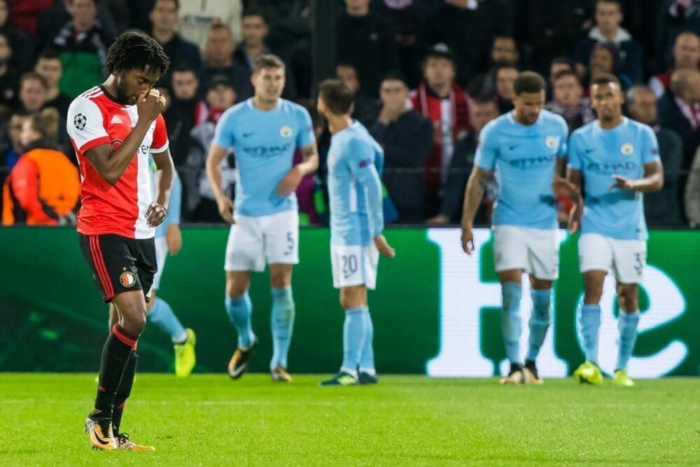 Feyenoord in Champions League-duel hard onderuit