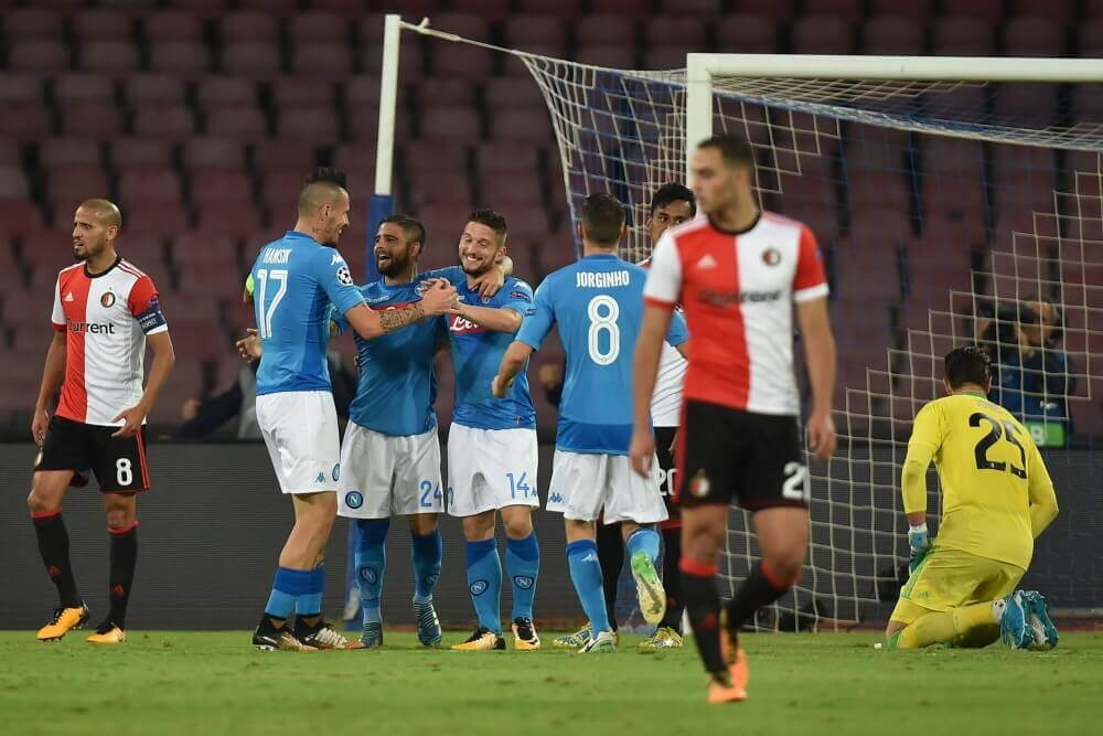 Feyenoord opnieuw onderuit in Champions League