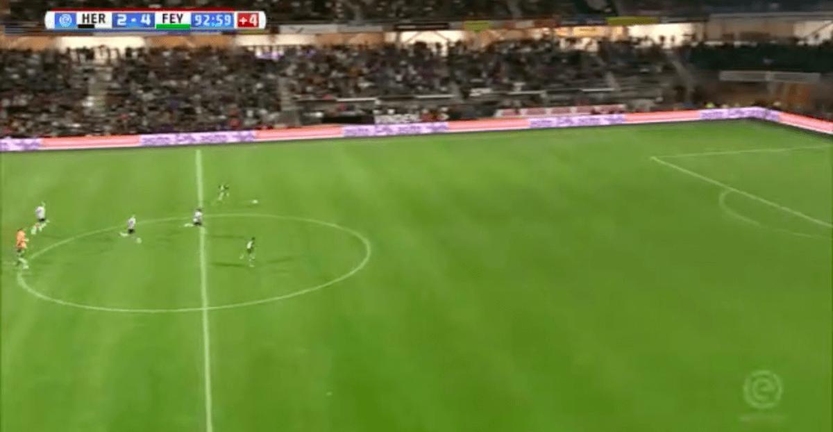 Larsson bekroont debuut met eerste Feyenoord-goal