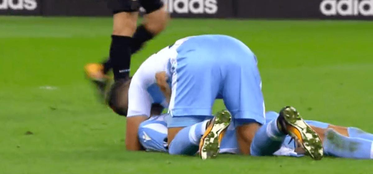 Lazio komt met nog kwartier te spelen op voorsprong