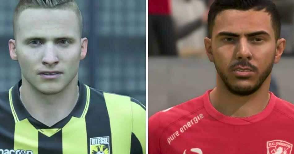 Deze Eredivisie-spelers lijken wél sprekend in FIFA 18