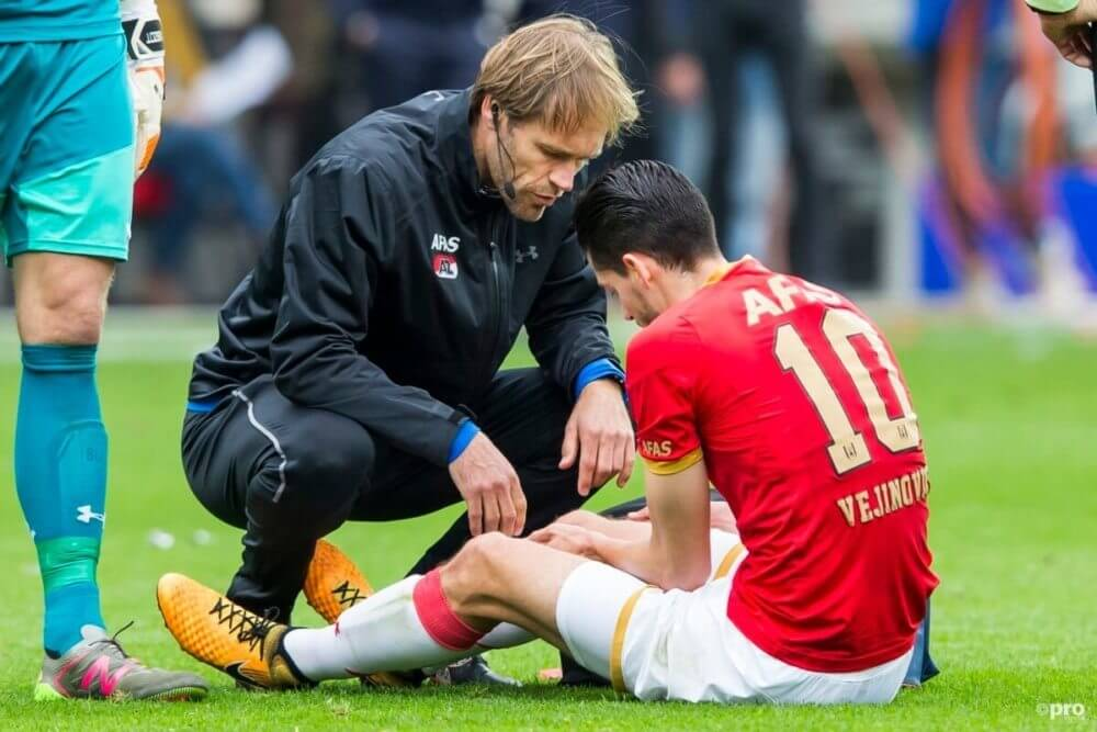 Drama voor AZ-speler Vejinovic