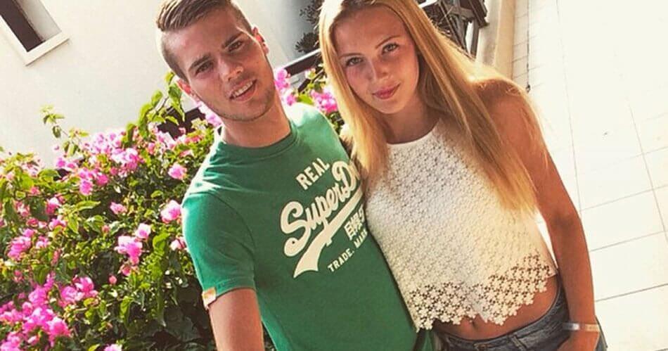 Feyenoord-talent heeft prachtig vriendinnetje