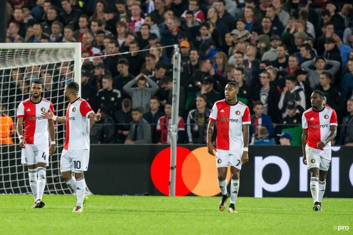Feyenoord verliest ook derde Champions League-duel