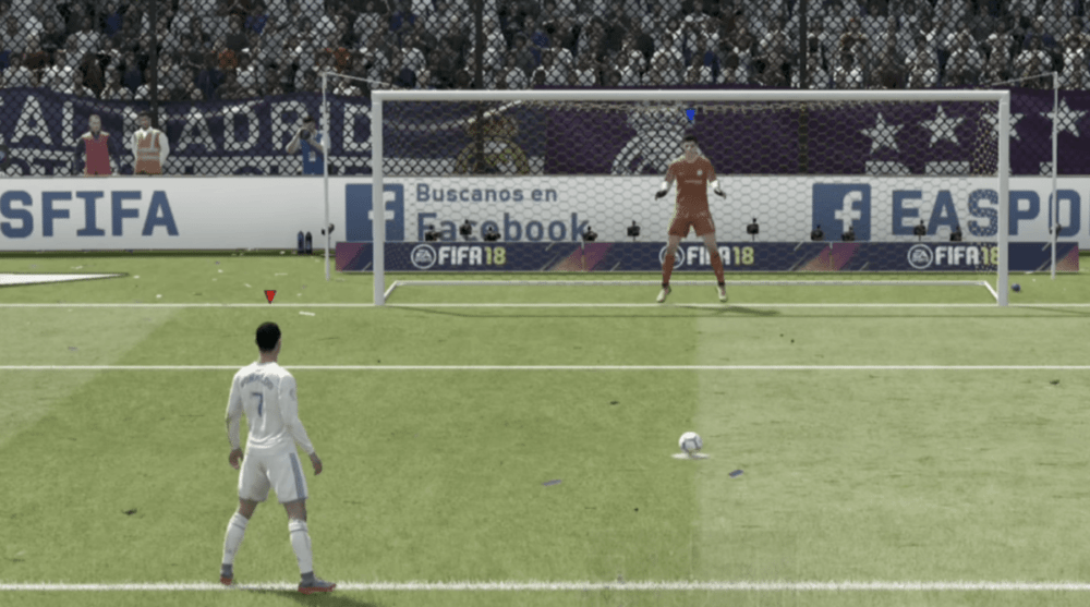 Met dit geheim trucje pak je elke strafschop in FIFA 18