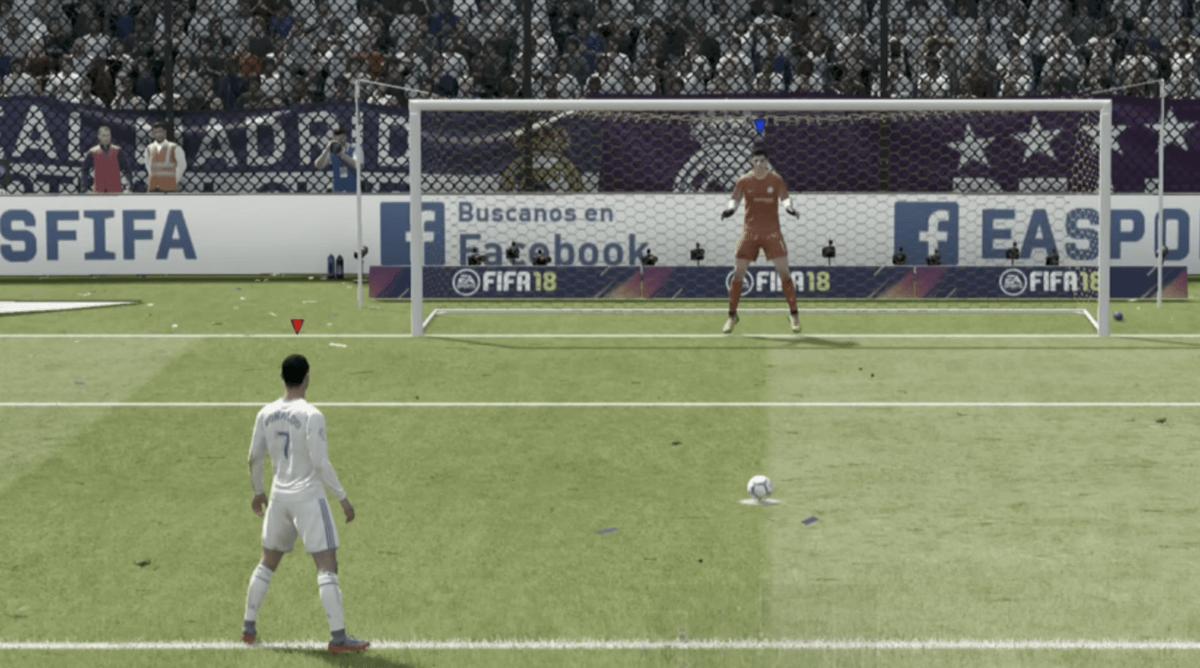 Met dit geheime trucje pak je elke strafschop in FIFA 18