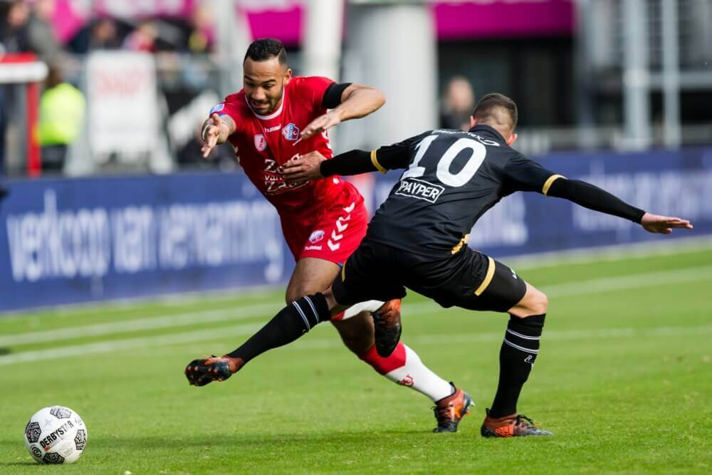 Utrecht en NAC houden elkaar op gelijkspel