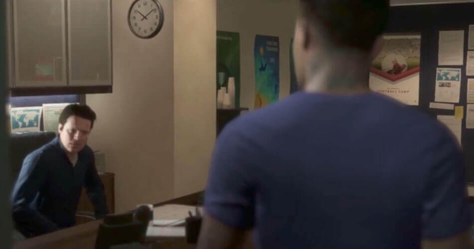 Wat gebeurt er als Alex Hunter wordt ontslagen in The Journey?
