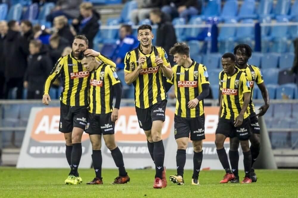ADO in slotfase onderuit op bezoek bij Vitesse