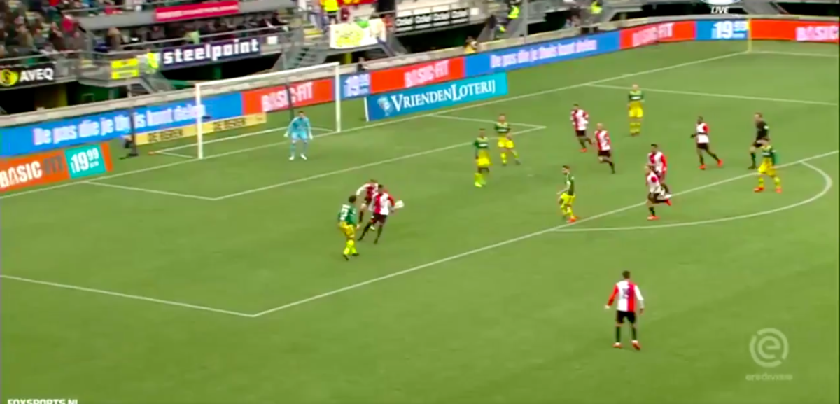 ADO speelt Feyenoord weg en scoort tiki-taka-goal
