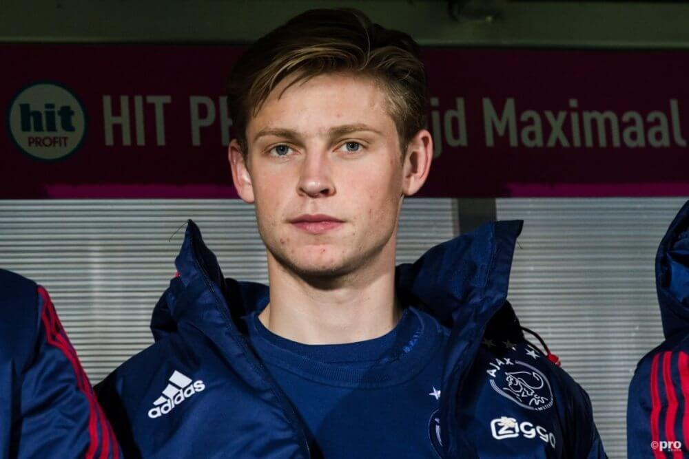 Ajax komende weken zonder De Jong