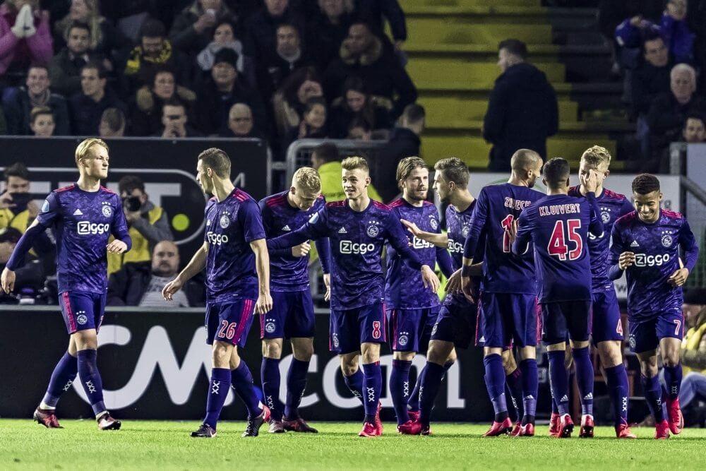 Ajax wint in Breda met enorme cijfers van NAC