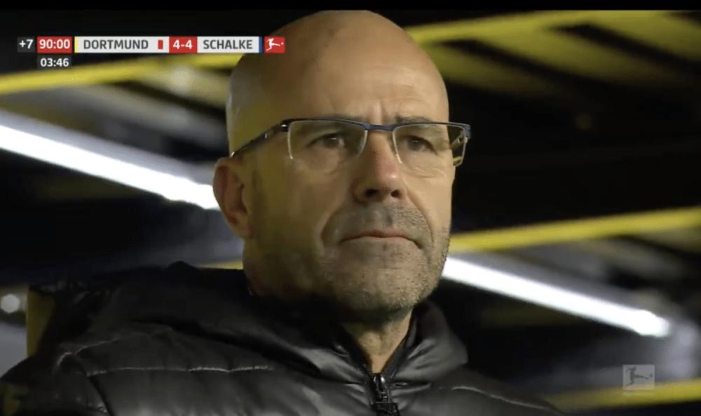 Bosz geeft 4-0 voorsprong weg tegen Schalke