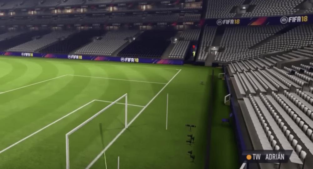 Er is een manier om het stadion uit te rennen in FIFA 18