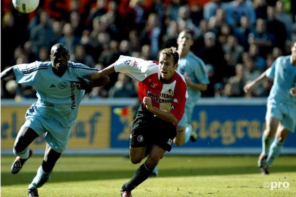 Hatem Trabelsi tegen Feyenoord