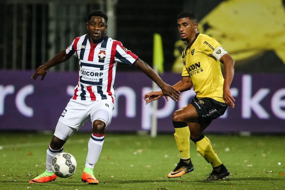 Ogbeche redt punt voor Willem II op bezoek in Limburg