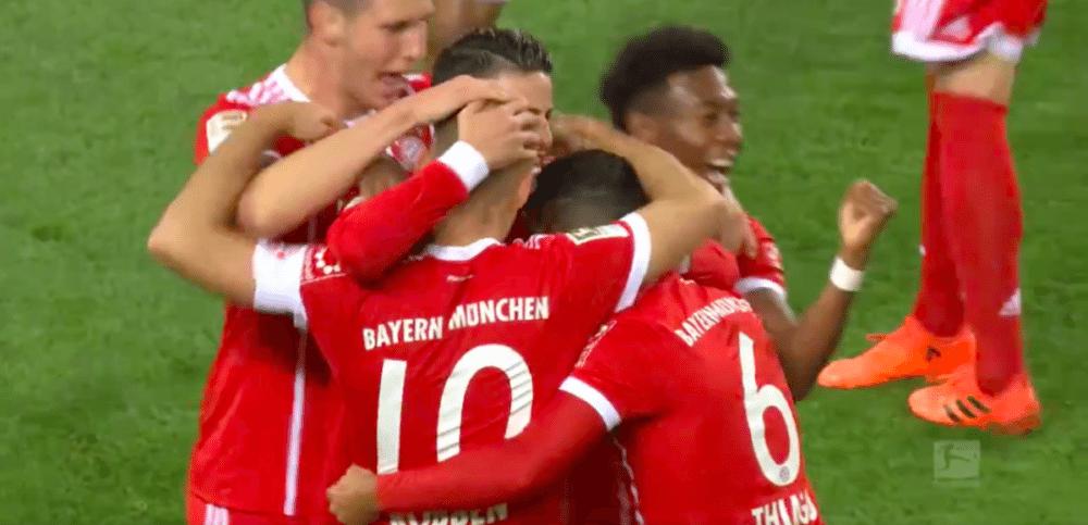 Robben pegelt heerlijk raak tegen Borussia Dortmund