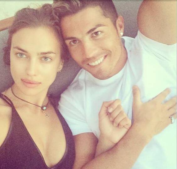 Cristiano Ronaldo en Irina Shayk 2014