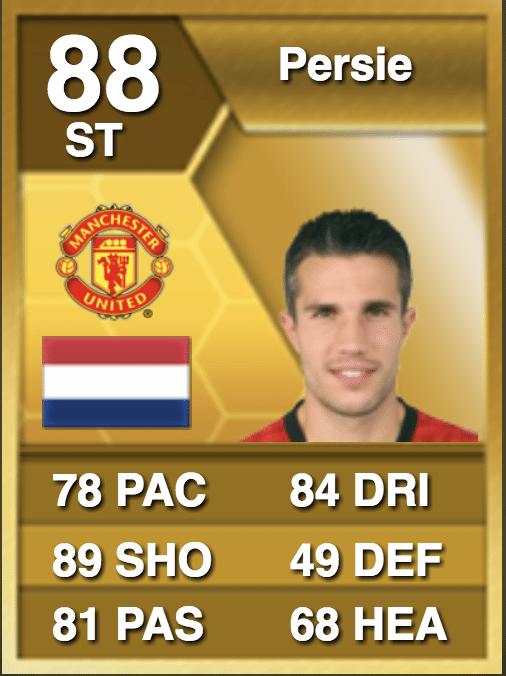 Robin van Persie FIFA 13