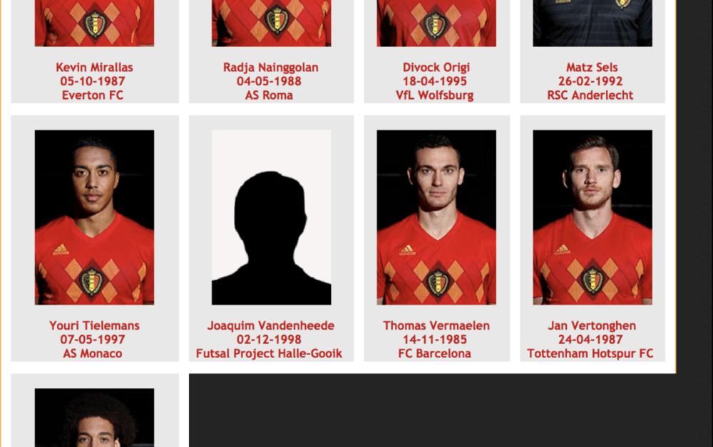 Totaal onbekende zaalvoetballer bij selectie België