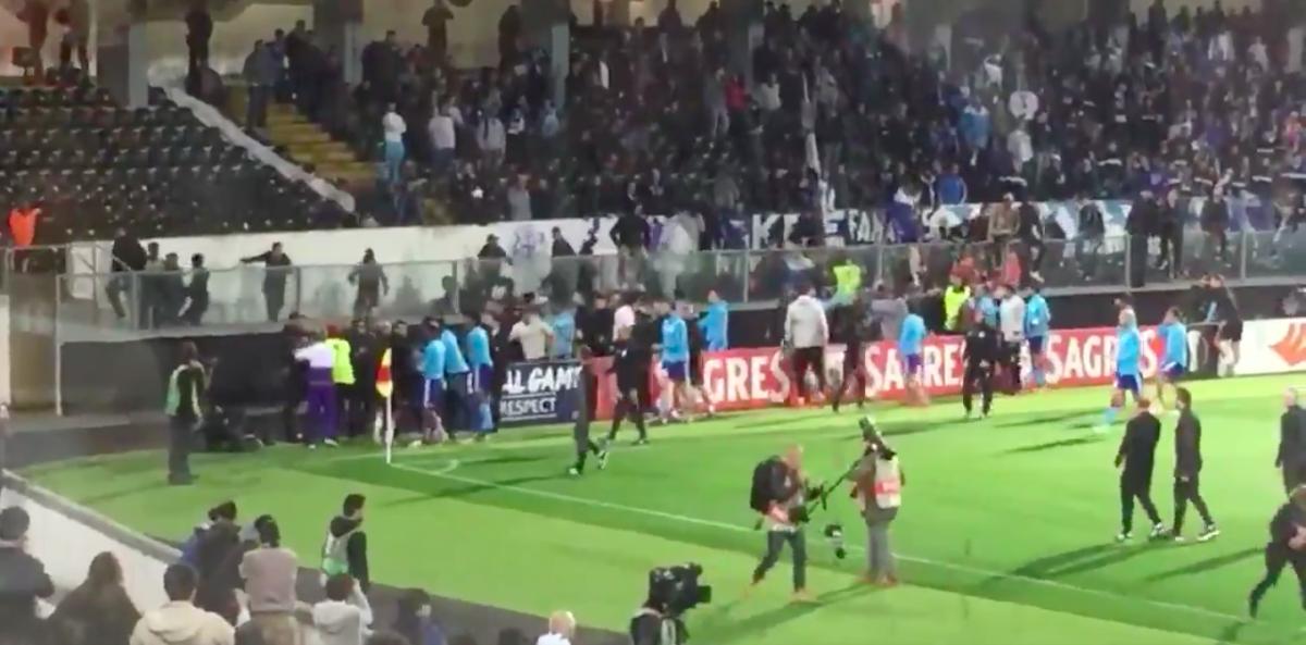 Update: Evra voorlopig niet meer welkom bij Marseille na vechtpartij