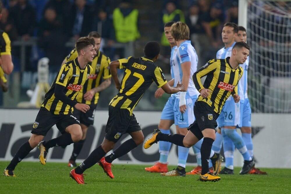 Vitesse uitgeschakeld in Europa na gelijkspel in Italië