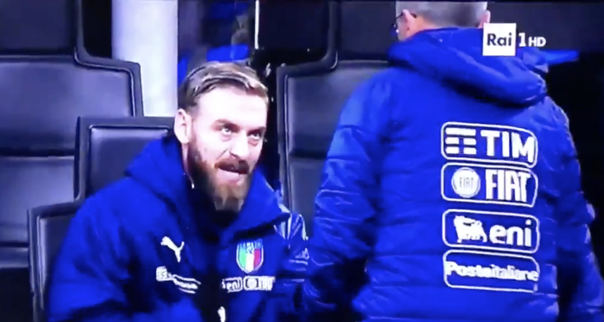 """""""Wat de f…"""": Ruzie De Rossi met bondscoach had opvallende reden"""