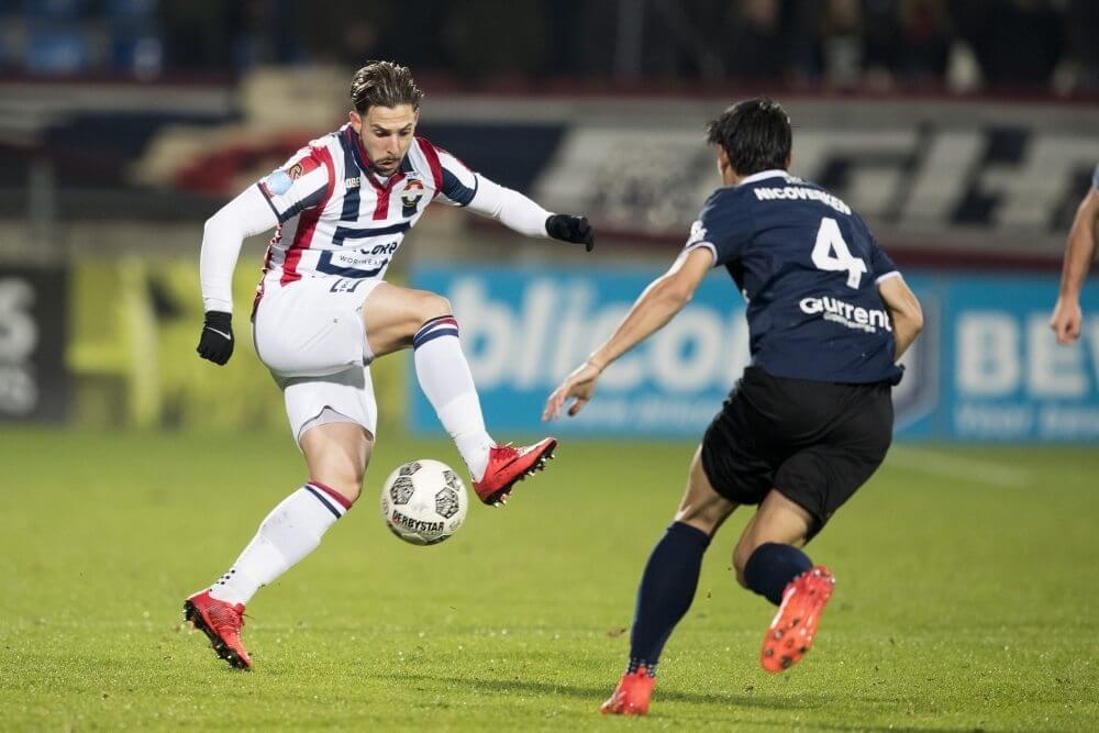 Willem II en Sparta delen punten in kelderkraker
