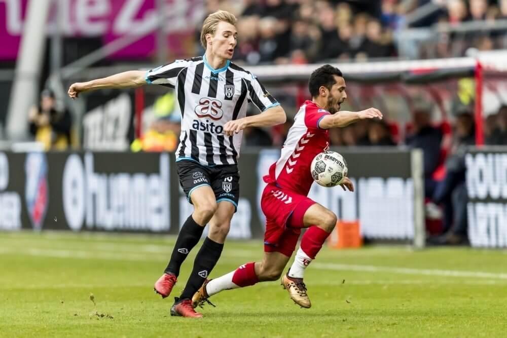 Heracles slaat in slotminuut toe en deelt punten met Utrecht