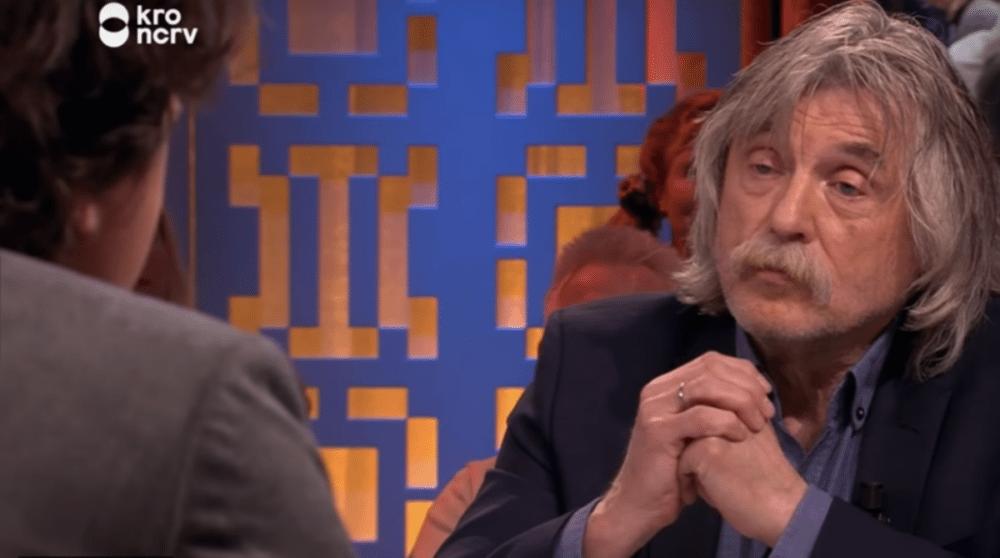 """Johan Derksen maakt Jesse Klaver boos: """"Gaat je geen zak aan"""""""
